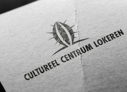 Logo Cultureel Centrum Lokeren door Graffito
