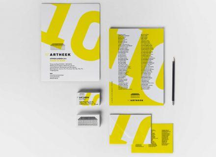 Artheek Lokeren - grafisch ontwerp door Graffito