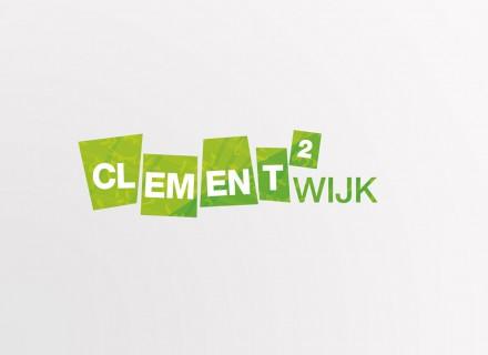 Logo, huisstijl en grafische vormgeving voor Clementwijk door Graffito