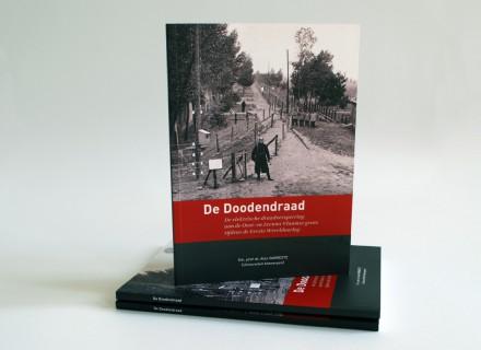 De Doodendraad - ontwerp en opmaak boekje uit 'kleine cultuurgids' reeks door Graffito nv