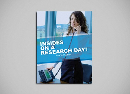 Vormgeving en opmaak door Graffito nv Gent 'Insides on a research day'