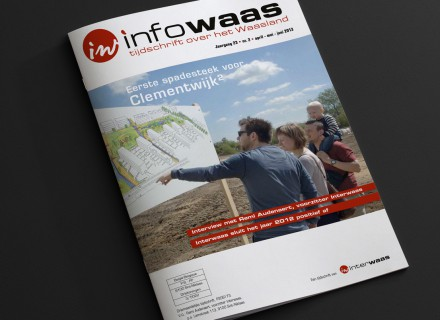 Infowaas - opmaak magazine door Graffito