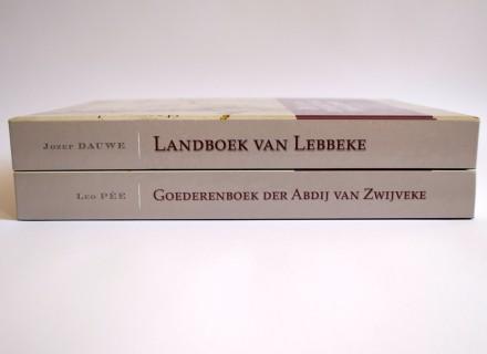 Goederenboek der Abdij van Zwijveke + Landboek van Lebbeke - Vormgeving en opmaak door Graffito