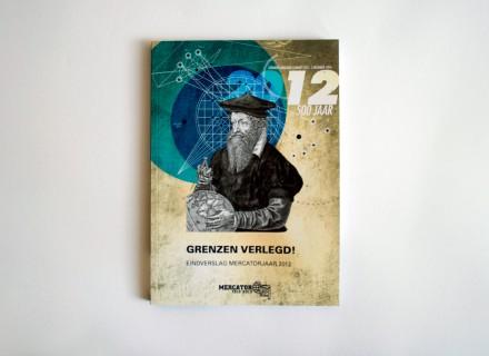 Mercator 2012 jaarverslag lay-out opmaak vormgeving design door Graffito