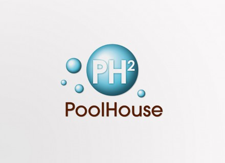 PoolHouse logo en huisstijl door Graffito