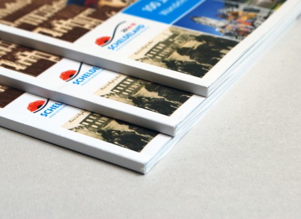 Graffito ontwerp en opmaak brochures WO1 voor Toerisme Scheldeland
