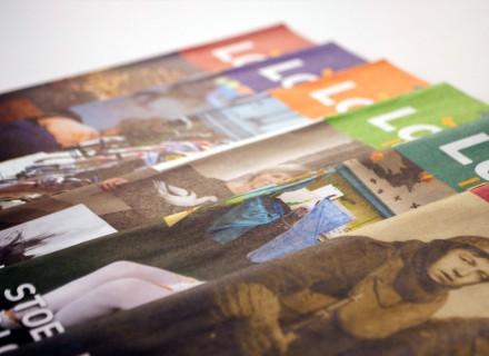 Grafische vormgeving en opmaak Infokrant Lokeren door Graffito nv Gent - Grafisch ontwerp en visuele communicatie