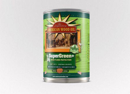 American Wood Oil verpakking ontwerp en opmaak door Graffito