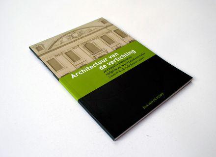Architectuur van de verlichting - Ontwerp en opmaak boekje uit de 'kleine cultuurgids' reeks door Graffito nv