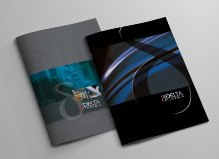 Delta Thermic + Delta Group - ontwerp, concept, vormgeving en realisatie: Graffito