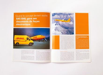 Opmaak HP Vision Magazine voor Hewlett Packard door Graffito - Gent
