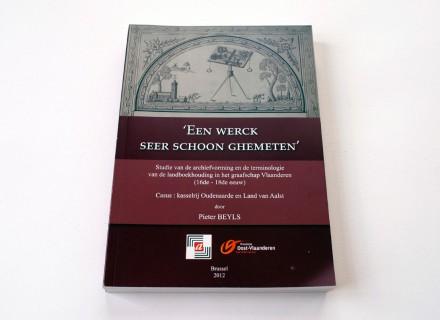 Boek Rijksarchief - vormgeving en opmaak Graffito