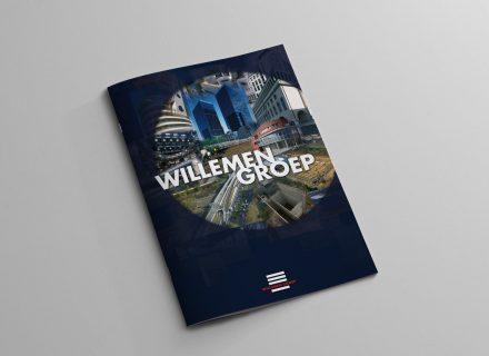 Ontwerp, vormgeving, lay-out en opmaak bedrijfsbrochure Willemen Groep door Graffito