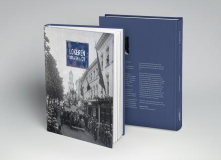 boek 'Lokeren: Straten en Co' vormgegeven en opgemaakt door Graffito Gent