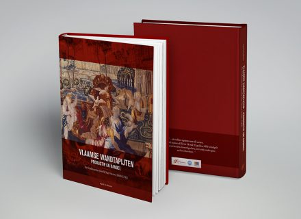 Graffito nam i.o.v. Provinciebestuur Oost-Vlaanderen met veel plezier de grafische vormgeving en opmaak voor zijn rekening van het boek 'Vlaamse wandtapijten - productie en handel - de Oudenaadse familie Van Verren (1680-1740)', geschreven door Ingrid De Meûter.