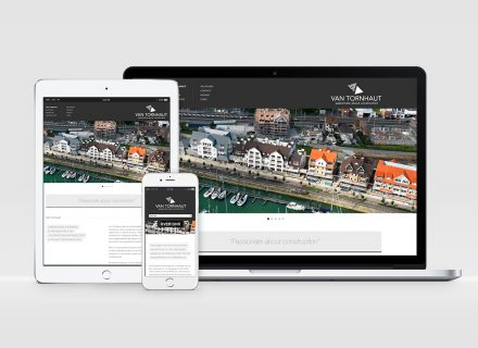 Graffito Gent: webdesign responsive website voor Van Tornhaut nv
