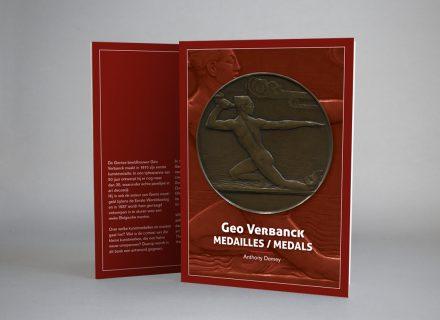 Medaillekunst van Geo Verbanck. Vormgeving en opmaak boek door Graffito ©2016