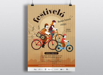 festiveló 2017 affiche door Graffito nv