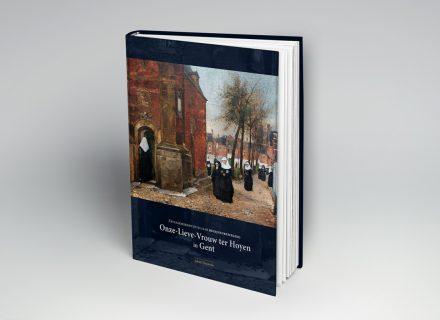 Grafische vormgeving Boek: 750 jaar Onze-Lieve-Vrouw ter Hoyen Begijnenbeweging in Gent