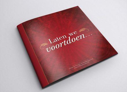 Ontwerp, opmaak en realisatie brochure voor Janssen Pharmaceutica door Graffito