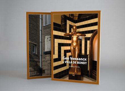 Vormgeving boekje Geo Verbanck in Villa De Bondt door Graffito Gent