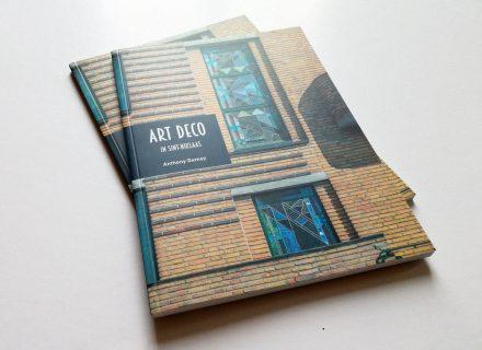 Kleine cultuurgids Art Deco in Sint-Niklaas (Anthony Demey 2017) - vormgeving door Graffito Gent