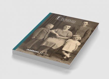 Vormgeving en realisatie van het jaarboek 2018 van Heemkundige Kring De Faluintjes door Graffito Gent - cover