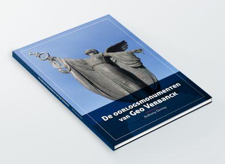 Boek 'De Oorlogsmonumenten van Geo Verbanck' - Anthony Demey - vormgeving en opmaak door Graffito Gent 2018
