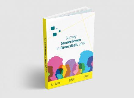 Survey Samenleven in Diversiteit 2017 - vormgeving, opmaak en realisatie ePub, iBook, PDF door Graffito Gent 2018