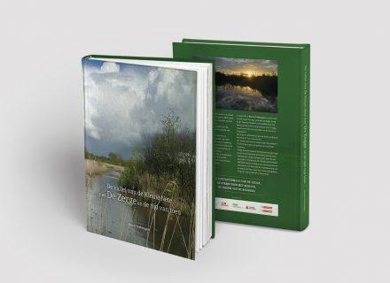 Boek 'De vallei van de Kleine Nete met De Zegge en de tijd van toen' (Marcel verbruggen), eindredactie, vromgeving en opmaak door Graffito Gent - cover voor + achter